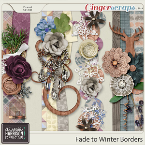 Fade to Winter Borders by Aimee Harrison