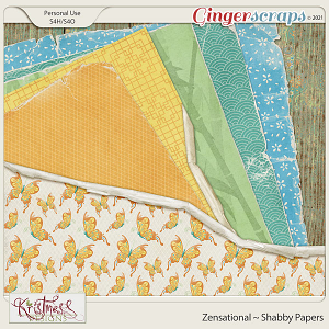 Zensational Shabby Papers