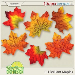CU Brilliant Maples by Key Lime Digi Design