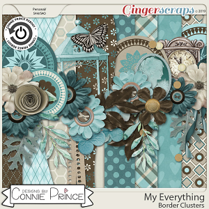 My Everything - Border Clusters by Connie Prince