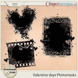 Valentine Day Photomasks