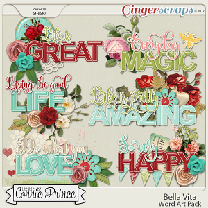 Bella Vita - WordArt Pack