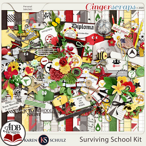 Surviving School Kit by Karen Schulz and ADB Designs