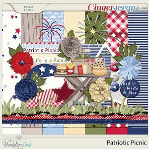 Patriotic Picnic by Dandelion Dust Designs