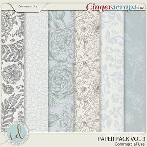 CU Paper Pack Vol 3 by Ilonka's Designs