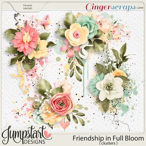 Friendship In Full Bloom {Clusters} by Jumpstart Designs