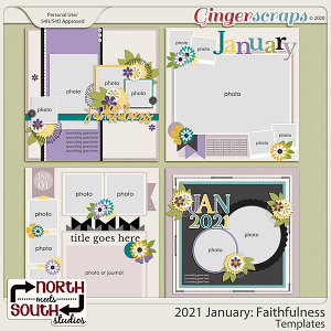 2021 January: Faithfulness Templates by North Meets South Studios