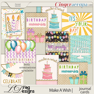 Make A Wish: Journal Cards by LDrag Designs