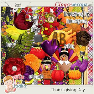 Thanksgiving Day-Page Kit