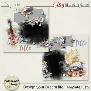 Design your Dream life Templates Set2