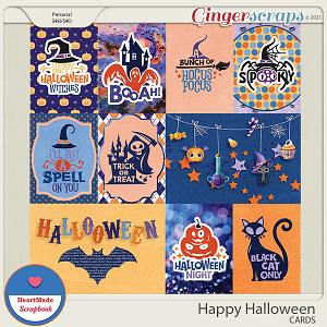 Happy Halloween - cards