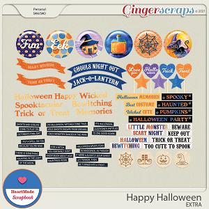 Happy Halloween - extra