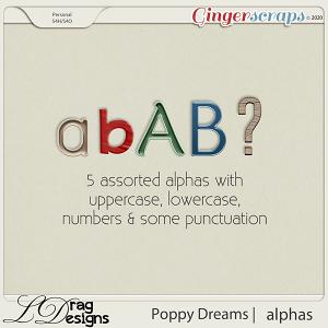 Poppy Dreams: Alphas by LDragDesigns