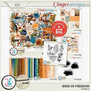 Wind Of Freedom Bundle by JB Studio and PrelestnayaP Design