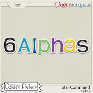 Star Command - Alpha Pack AddOn by Connie Prince