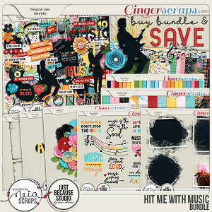 Hit Me with Music - Bundle - by Neia Scraps & JB Studio