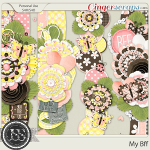 My Bff Page Borders