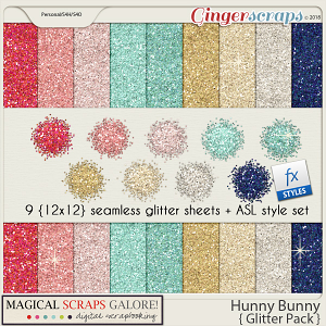 Hunny Bunny (glitter pack)