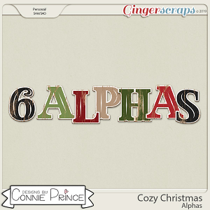 Cozy Christmas - Alpha Pack AddOn by Connie Prince