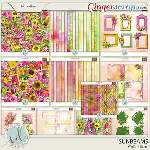 Sunbeams Collection by Ilonka's Designs