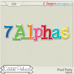 Pool Party - Alpha Pack AddOn by Connie Prince