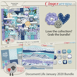 Document Life January 2020 Bundle by Luv Ewe Designs