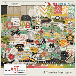 A Time for Fun Page Kit