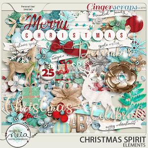 Christmas Spirit - Elements - by Neia Scraps