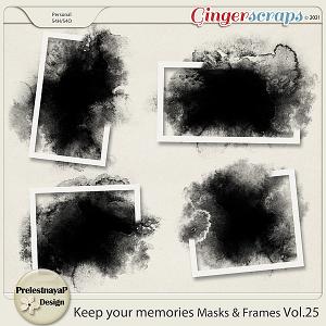 Keep your memories Masks&Frames Vol.25