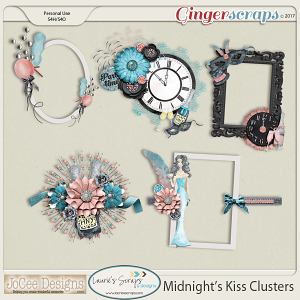 Midnight's Kiss Cluster Pack