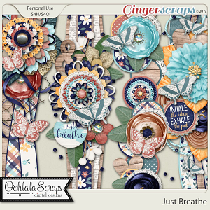 Just Breathe Page Borders