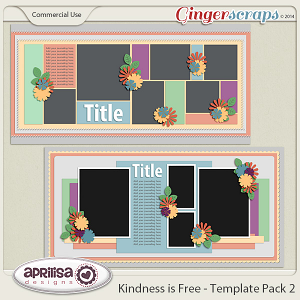Kindness Is Free - Template Pack 2