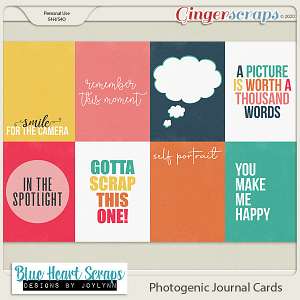 Photogenic Journal Card Pack