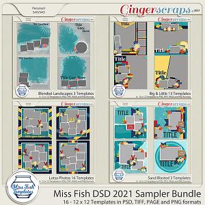 2021 DSD Grab Bag #2 by Miss Fish - DSD Sampler Bundle