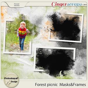 Forest picnic Masks&Frames