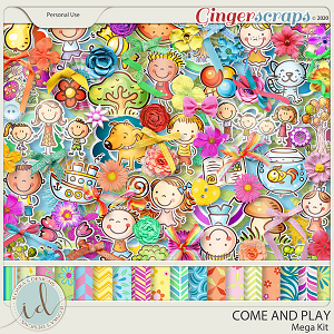 Come And Play Mega Kit by Ilonka's Designs