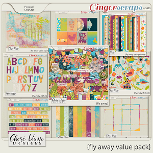 Fly Away Value Pack by Chere Kaye Designs