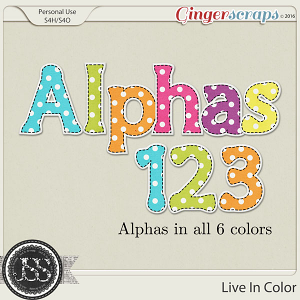 Live In Color Alphabets