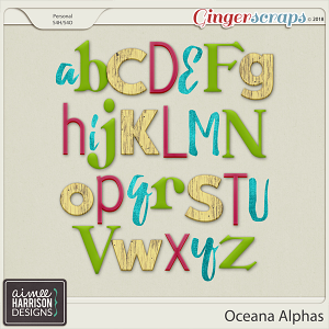 Oceana Alpha Sets by Aimee Harrison