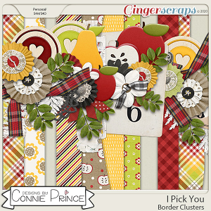 I Pick You - Border Clusters by Connie Prince