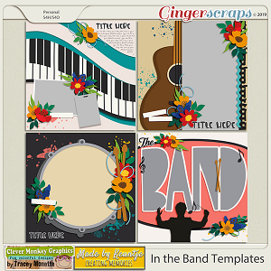 In the Band Template Pack by Clever Monkey Graphics