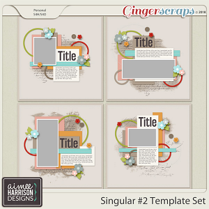 Singular #2 Templates by Aimee Harrison