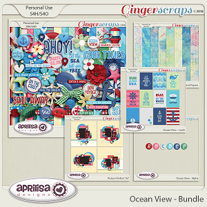 Ocean View - Bundle by Aprilisa Designs