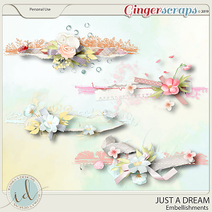 Just A Dream Embellishments by Ilonka's Designs
