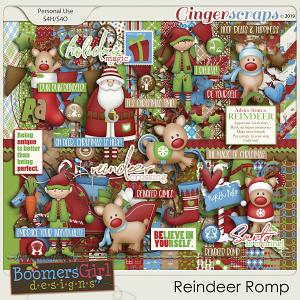 Reindeer Romp by BoomersGirl Designs