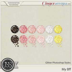 My Bff Glitter Photoshop Styles