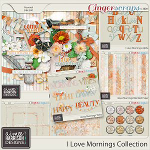 I Love Mornings Collection by Aimee Harrison