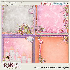 Fairytales Stacked Papers (layers)