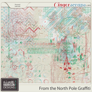 From the North Pole Graffiti by Aimee Harrison