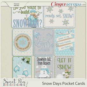 Snow Days Pocket Cards